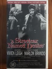 A STREETCAR NAMED DESIRE ORIGINAL DIRECTOR'S CUT MARLON BRANDO RARE PALVHS VIDEO