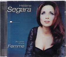 Helene Segara: Au nom d'une Femme CD -Album 12 Tracks