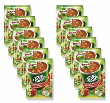 12 x KNORR Cup a Soup Instant Tomato Soup With Croutons