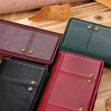 For Moto E6 Z3 Zenfone Max Pro (M2)ZB631KL Crazy Horse Leather Wallet Case Cover