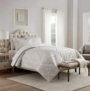 Style Decor 6-piece Kate Neutral King Comforter Set