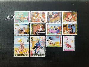 Schöne Disney Cinderella Briefmarken aus Entenhausen
