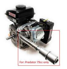 Exhaust With Muffler for: Predator 3HP 79cc from harbor freight tool, Mini bike.