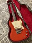 Gibson SG Melody Maker Cardinal Red 1966 Vintage USA Electric Guitar, s1630 for sale