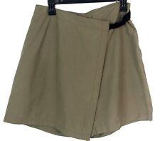 Woolrich Women's Skirt Skort Tan Size 8 Camping Outdoors Trekking Stretch Nylon