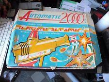 RARE Automatic 2000 Pistolet Fléchette Jouets PP Monaco 1968 jeu jouet ancien