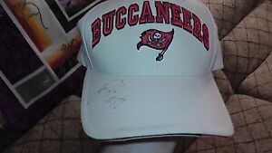 Unknown Original Signed Official Original Tampa Bay Buccaneers Twins Hat TB NFL