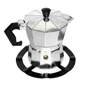 Moka Pot Stove Stand Steel Coffee Pot Holder Gas Range Support Ring  Grate