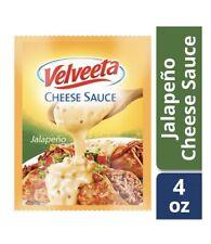 Kraft Velveeta Cheese Sauce Jalapeno 5 Pack, 4 oz Each Pouch