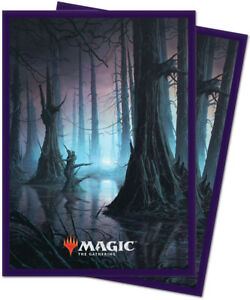 Ultra Pro Magic the Gathering: Unstable Deck Protector Sleeves (100) - Swamp