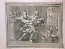 SCENA BIBLICA; PORDENONE Eccellenti pittori Firenze;1768 MULINARI
