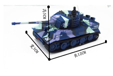 1/72 2117 German Tiger RC Battle Tank Model Gift Toy Great Wall Y