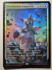 FOIL Promo Désinfection temporelle - Time Wipe    MTG Magic Francais