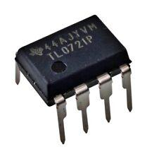 5pcs Texas Instruments Tl072ip Tl072 Low Noise Jfet Dual Op Amp Dip 8 New Ic
