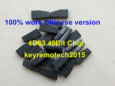1Pcs 4D63 40bit Remote Key Carbon Chip Transponder Chip For Ford Mazda 2/3/5/6