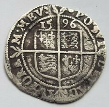 More details for 1596 elizabeth i sixpence silver coin lot 1