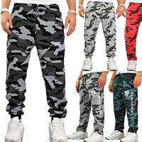 Herren Camouflage Jogginghose Fitness Sport Tarn Damen Neu Army Hose (H.A13.2)