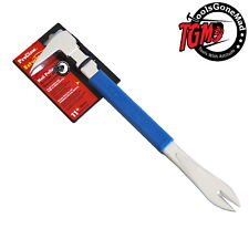 """ESTWING PRO CLAW NAIL PULLER 280MM 11"""" BLUE CUSHION GRIP PC280G"""