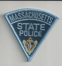 MASSACHUSETTS STATE POLICE - POCKET/HAT SIZE - IRON or SEW-ON PATCH