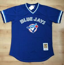 Toronto Blue Jays Joe Carter Jersey Mesh BP Pullover Blue #29 new 1993