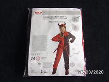 super Faschingskostüm Kinder-Kostüm Teufel für 3-5 Jahre   NEU und OVP