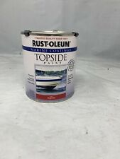 New listing Rust-Oleum 207004 Topside Paint,Bright Red,Alkyd