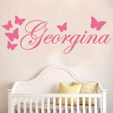 Wall Sticker Name Decal Personalised Names Vinyl Art Stickers Wallpaper for Kids
