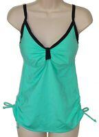 Jag aqua underwire tankini top size M 32D 32DD swimsuit women new