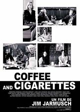 The White Stripes / Coffee and Cigarettes French Movie Poster 11x17