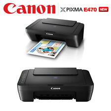 New PIXMA E470 Multi Color Affordable All-In-One Printer With Wi-Fi Cloud link