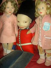 """Rare 1938, 32"""" Norah WELLINGS l'bd. English Palace Queen's Guard doll K 44  XLNT"""