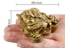 Une belle statue en laiton d'un symbole de richesse 5.5x5x3 CM