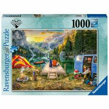 Ravensburger - Calm Campsite Puzzle 1000pc