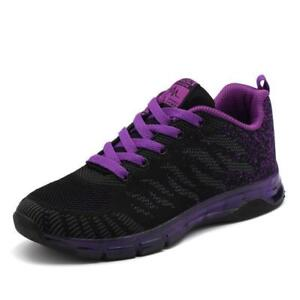 Women's Lace Up Outdoor Casual Jogging Walking Sneakers Athletic Sports Shoes