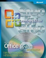 New, Office 2003 Step by Step eLearning Library Interactive Training Book/CD Pac