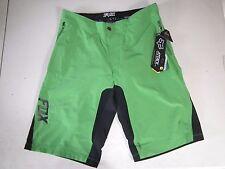 Fox Racing Attack Q4 Short w/Liner MTB MotoX Green Mens Size 36 12187