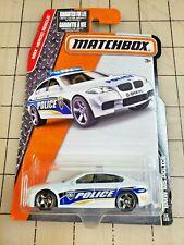 Matchbox BMW M5 Police Police White MBX Heroic Rescue 68/125