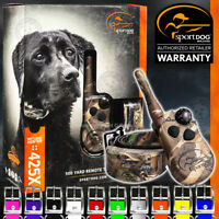 SportDOG WetlandHunter 425X Camo Max-5 Dog Training Collar SD-425XCAMO + Strap