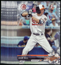 (10) 2017 Bowman Draft ADAM HALL Lot Orioles #BD-55 QTY Available