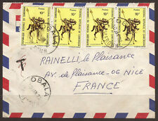 CAMEROUN. AIR MAIL COVER. OBALA POSTMARK. ADDRESSED TO FRANCE.