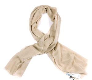 Battisti Scarf: Beige Whisper Pure Cashmere, Made in Italy