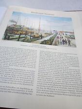 Hamburgo archivado 2 ciudad imagen 1090 el de deichtor exterior 1834 Peter suhr