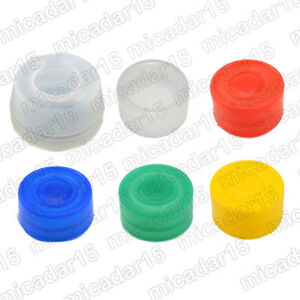 22mm & 30mm Push Button Silicone Boot Sleeve Covers