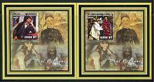 Mosambik 2002 Cezanne Gemälde Paintings Kunst Art Deluxe Blocks Postfrisch MNH