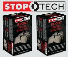 [FRONT + REAR SET] STOPTECH Sport Performance Disc Brake Pads STP98311
