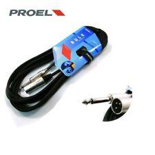 PROEL BULK220LU10 cavo professionale sbilanciato JACK (mono) -XLR (3 poli) 10MT