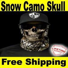 SA Company Face Shield Mask USA Fishing Cycling Outdoor (Snow Camo Skull)