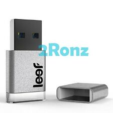 Leef Magnet 64GB 64G USB 3.0 Flash Drive Mini Nano Disk LED Transparent Silver