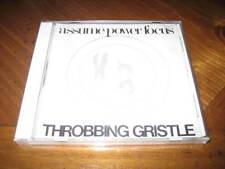 Throbbing Gristle - Assume Power Focus CD - Punk Alternative Rock Industrial