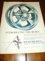 1965 REBEL MAG WHEEL  ***ORIGINAL AD***